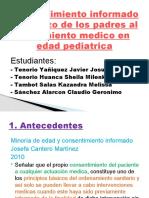 Consentimiento Informado y Rechazo de Los Padres Al Tratamiento Medico en Edad Pediatrica
