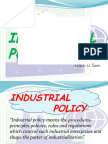 RAJESH GOMRA PPT on New Industral Policy