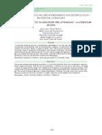 O uso de ansiolítico no pré-atendimento em Odontologia – revisão de literatura