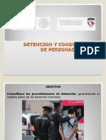 Detencion y Conducccion de Personas