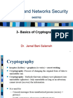 3 _Basics of Cryptography