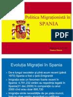 Politica migrationista in spania