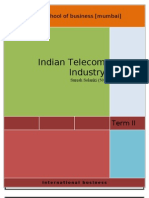 Indian Telecom Sector by Suresh