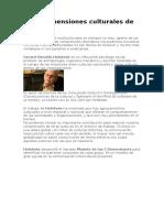 Las 5 Dimensiones culturales de Hofstede