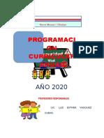 programacion anual QUINTO