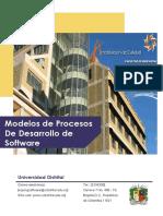 Modelos de Procesos de Desarrollo de Software