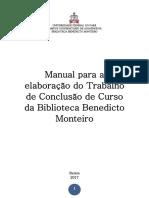 Manual de TCC - 2017