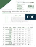 2º  Parcial  5º  A SH  SISEEMS __ Acreditación semestral