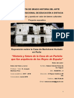 Trabajo Fin de Grado Gestión y Puesta en Valor de Bienes Culturales - Uned 18 19 Rubén Cañada