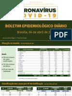 2020_04_04 - Covid - Atualização de Vigilância Epidemiológica - Sábado