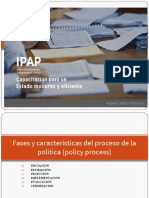 Fases y características del proceso de la política