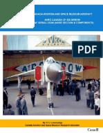CASM-Aircrafthistories-AvroCanadaCF-105Arrownose