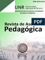 Revista de asesoría pedagógica