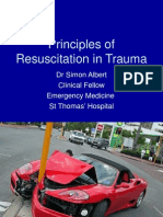 Principles of Trauma Simon Albert Mar10