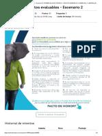 puntos evaluables - Escenario 2 derecho comercial