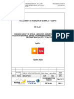 PR-TAL-001 PROCEDIMIENTO DE RECEPCION DE MATERIALES Y EQUIPOS.doc