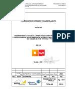 PR-TAL-003 PROCEDIMIENTO DE INSPECCIÓN VISUAL DE SOLDADURA.doc