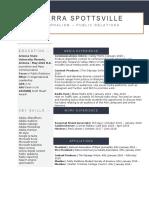 media resume online