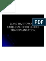 Bone Marrow and Umbilical Cord Blood Tranplantation