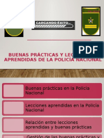 BUENAS PRÁCTICAS Y LECCIONES APRENDIDAS