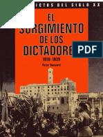 Banyard, Peter - Conflictos Siglo XX Surgimiento de Los Dictadores
