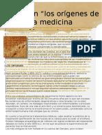 Medicina y Mesopotamia