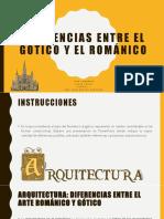 DIFERENCIAS GOTICO_ROMANICO - LAMADRID Y FRUTO - VIRTUAL