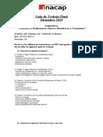 Guía de Trabajo Final 2019 Cuidados Gineco-Obstétricos y Neonatales 2019 INACAP