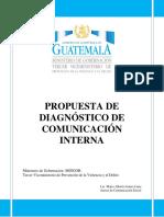 DIAGNÓSTICO Y PROPUESTA PARA LA COMUNICACIÓN INTER