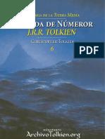 La caida de Numenor - J. R. R. Tolkien