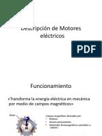 Descripción de Motores eléctricos
