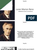 Loren Marion Reno