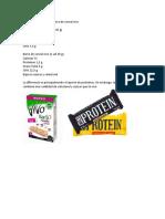 Barra de proteínas v