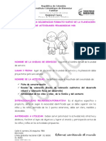 INSTRUCTIVO PARA DILIGENCIAR FORMATO NUEVO DE PLANEACIÓN DE ACTIVIDADES ....doc