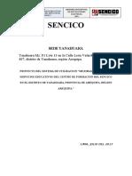 383135910 Memoria Descriptiva MT SENCICO YANAHUARA Docx