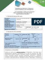 Guía de actividades y rúbrica de evaluación - Paso 2 - Diagnóstico Línea Base de un Agroecosistema Ganadero
