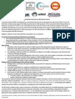 Bristol Bay protocols for 2020 salmon season