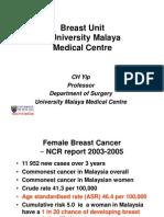 Breast Unit – University Malaya Medical Centre