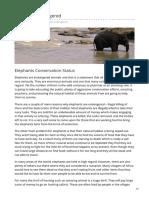 elephant-world.com-Elephants Endangered.pdf
