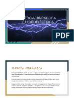 Informe energia electrica e hidroelectrica