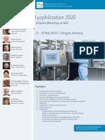 ECA-Lyophilization