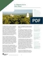 Estudio de caso La biósfera Maya