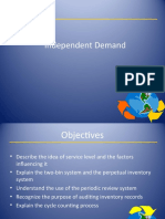 Independent Demand ( Day 5A)