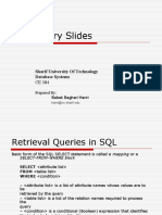 SQL Slides(2)
