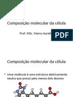 Aula 3 - Composição molecular da célula.pdf