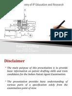 Basics of Patent Drafting