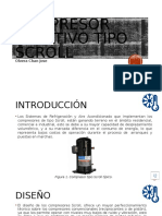 Compresor rotativo tipo scroll