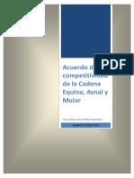 Acuerdo de Competitividad de la Cadena Equina, Asnal y Mular.pdf
