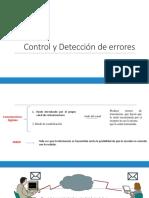 3 Control y Detección de Errores