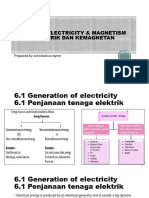 CHAPTER 6 ELECTRICITY & MAGNETISM